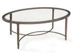 Antiqued Metal Coffee Table
