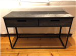 Box Drawer Console Table
