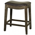 Demilune Stool - Brown