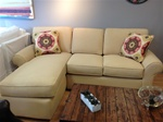 Amanda Sectional, Upholstered