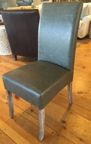 parsons dining chair with weathered leg - Parsons Dining Chairs
