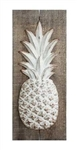 Wood And Metal Pineapple Wall Decor