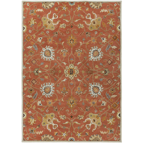 Agora Rug - Burnt Orange