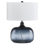 Air Glass Table Lamp - Blue