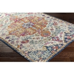 Amalfi Rug - Blue & Orange