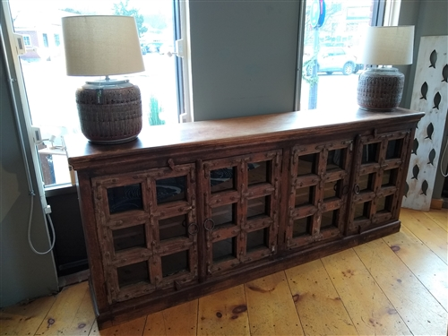 Antiqued Door Sideboard - Floor Model
