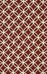 Red & Ivory Indoor Outdoor Rug