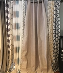 Beige Blackout Curtain - 84""