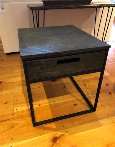 Box Drawer Side Table