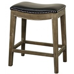 Demilune Stool - Black