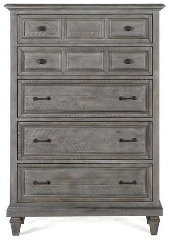 Distressed Gray Chest