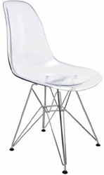 Paris Ghost Chair - Clear