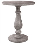 Gray Washed Accent Table