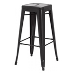 Gun Metal Counter Stool