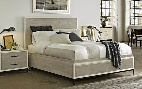 The Hamptons Storage Bed - Queen