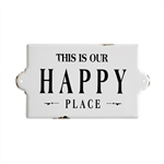 Happy Place Sign