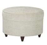 Enso Ottoman in Fabric