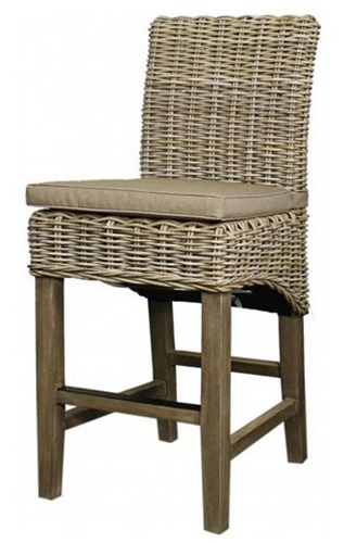 Remarkable Kubu Rattan Counter Stool Squirreltailoven Fun Painted Chair Ideas Images Squirreltailovenorg