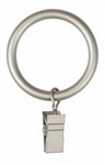 Large Clip Curtain Rings, Nickel