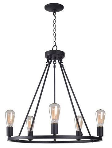 Loft Industrial Chandelier
