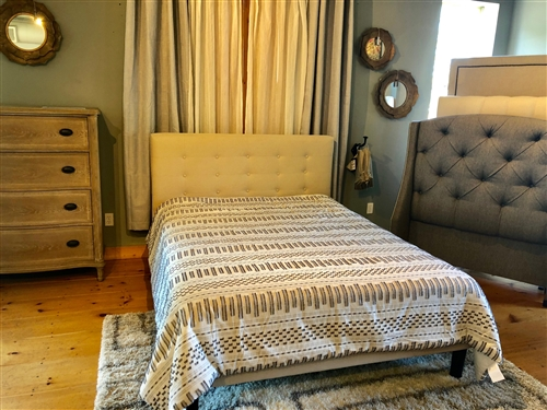 Modern Queen Tufted Bed