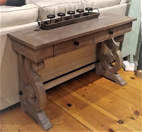 Melange Sofa Table - Dove Gray