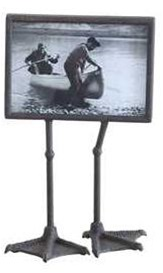 Metal Duck Feet Picture Frame 7 x 5