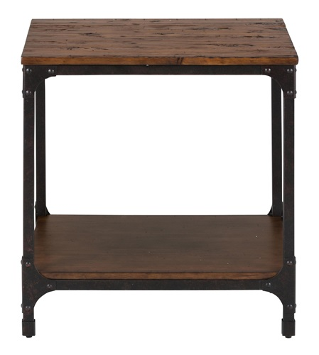 Factory Mill Square Side Table