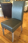 Parsons Dining Chair with Weathered Leg