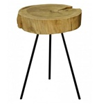 Recycled Teak Side Table