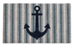 Striped Anchor Doormat