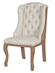 Tufted Deconstructed Wing Chair