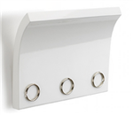 Magnetter Magnetic Key & Letter Holder White