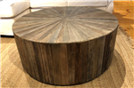 Recycled Elm Round Coffee Table