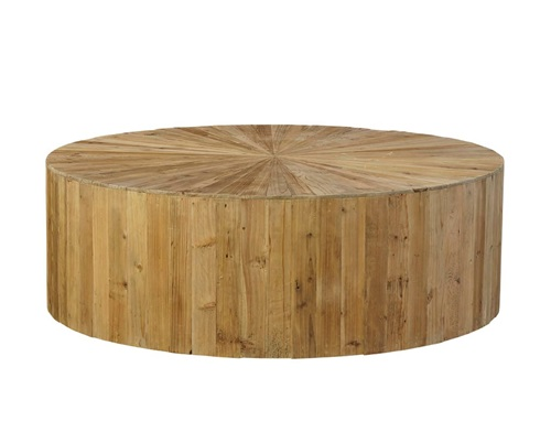 Round Reclaimed Coffee Table